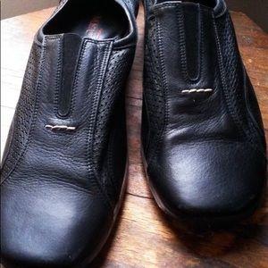 Slip On Italy Leather Slides Moc Sporty Designer